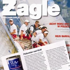 Poliuretan Sea-Line w Żaglach! (Żagle 04.2011)