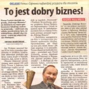 Firma z Ząbrowa ....  (Głos Koszaliński 13.12.2007)