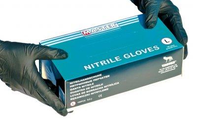 Ochrona BHP rękawiczki nitrylowe MASTER