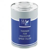 THinner for polyester spray filler