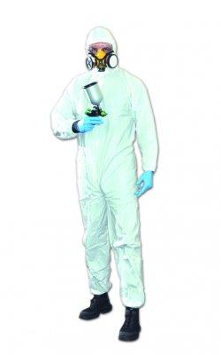 Ochrona BHP kombinezon bialy jednorazowy