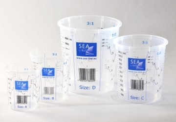 PLASTIC CUPS WITH MEASURE