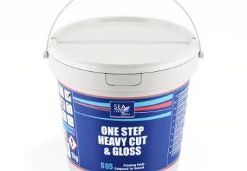 S05 ONE STEP, HEAVY CUT & GLOSS – Polierpaste