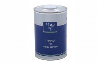 Thinner for epoxy primers