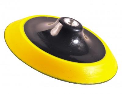 Głowice polerskie - uchwyt mocujący Uniwersalny żółty