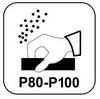szlifowanie papierem P80-P100