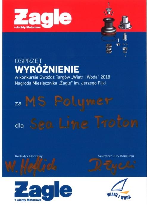 Wyroznienie WiW 2018 dla MS POLYMER