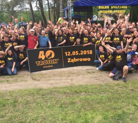 Cleaning of the river Parsęta 2018