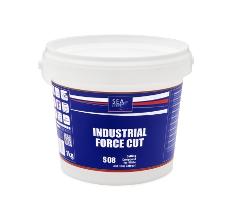 NEW PRODUCT – polishing compound S08 INDUSTRIAL FORCE CUT