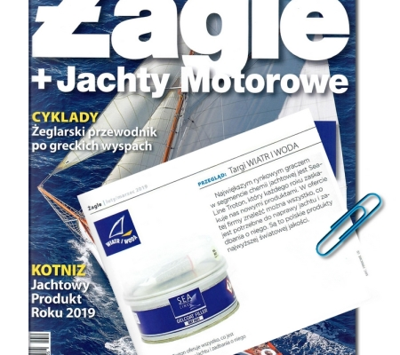 Recommendation for the Sea-Line brand in Żagle