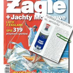 """Podkład epoksydowy w magazynie sportów wodnych """"Żagle"""""""