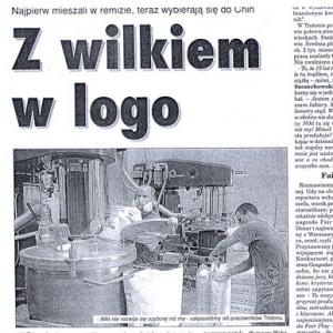 Z wilkiem w logo (Głos Koszaliński 23-24.07.2005)
